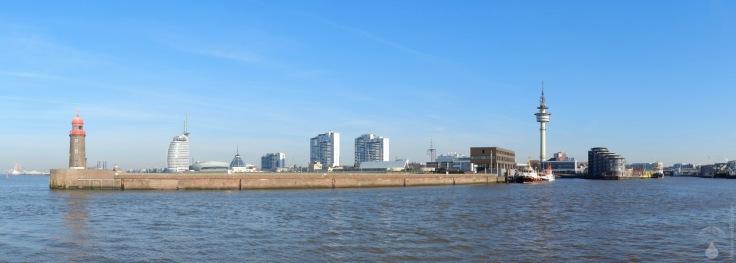 #Skyline Bremerhaven