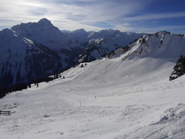 Skirouten Kleinwalsertal Walmendingerhorn