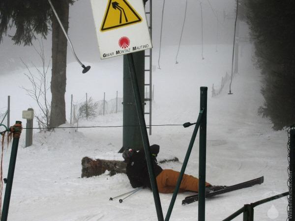 Skifahren Baraque de Fraiture Belgien