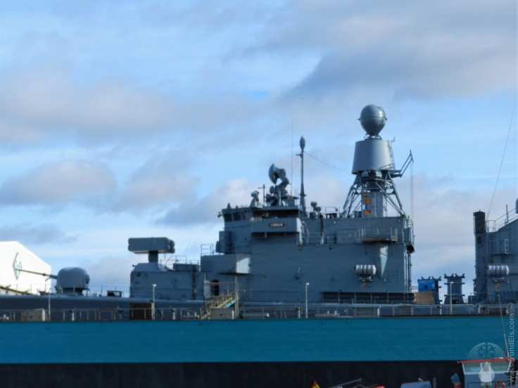 Vorderdeck Bremen-Klasse Fregatte