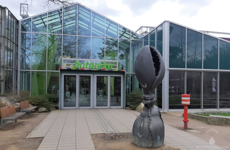 Eingang Botanika Bremen Rhododendron-Park