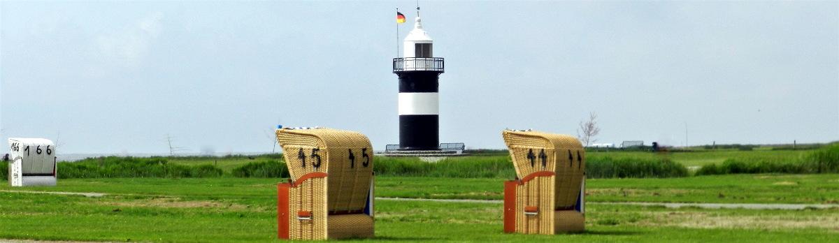 Wremen Leuchtturm Wurster Nordseeküste