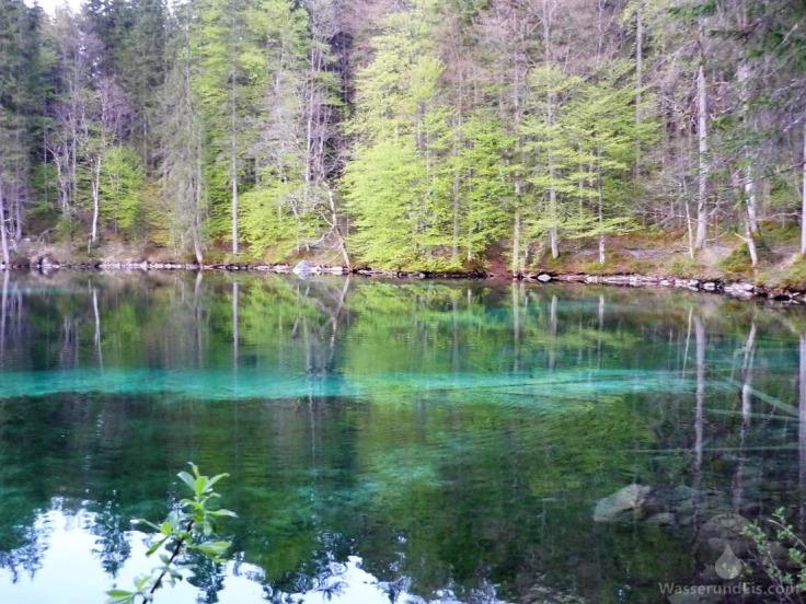 Badersee Grainau Bayerische Alpen