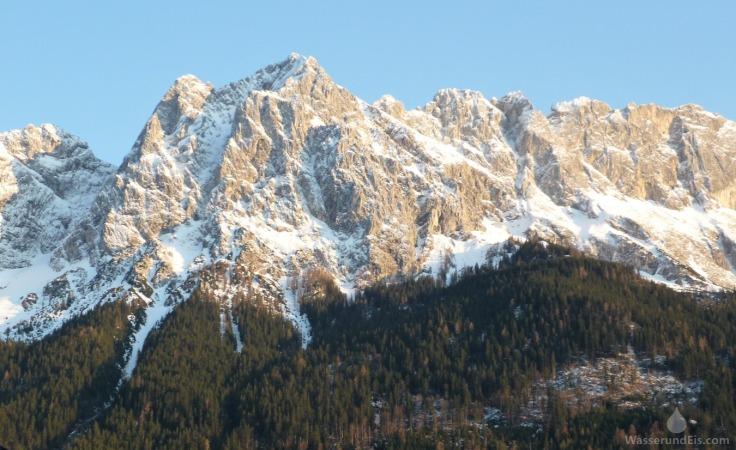 Waxensteine Wettersteingebirge Grainau
