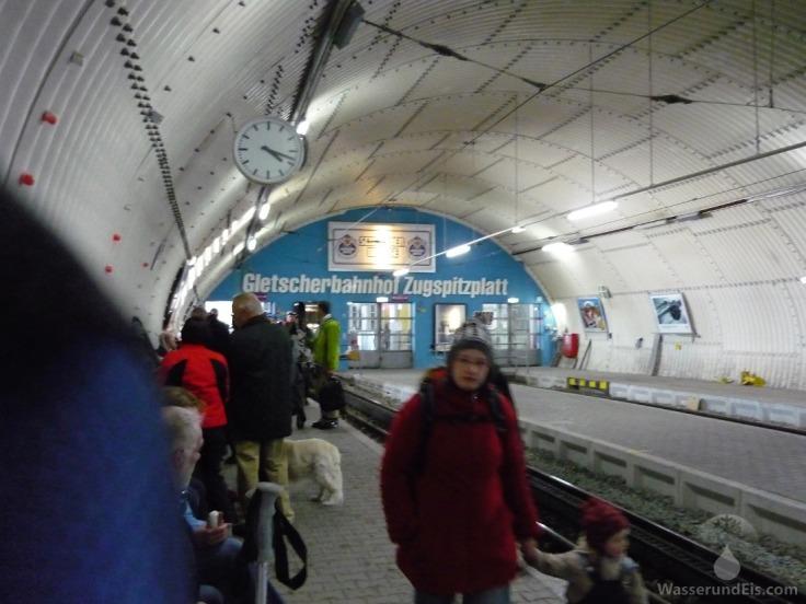 Bahnhof Zugspitzplatt Sonnalpin Zugspitze