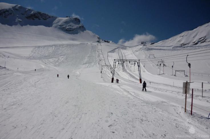 Skigebiet Zugspitzgletscher