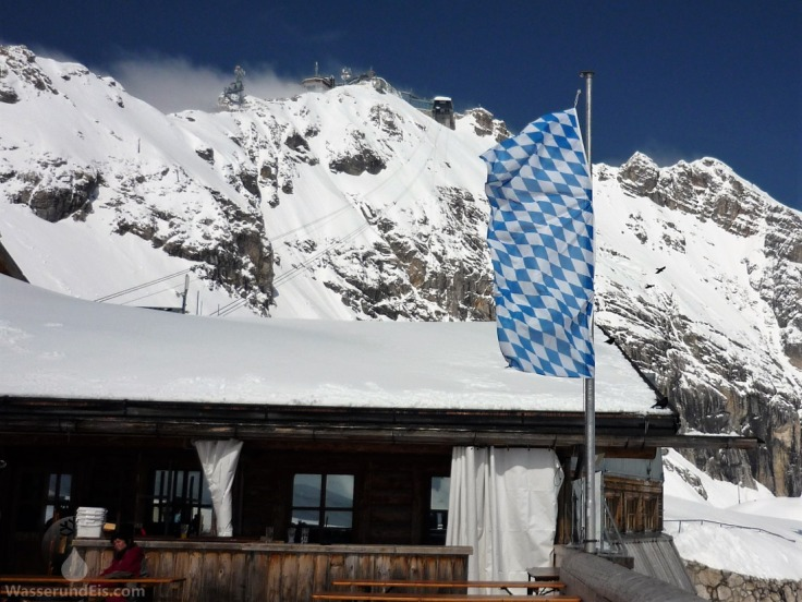 Zugspitze Gipfel Bayern Sonnalpin.