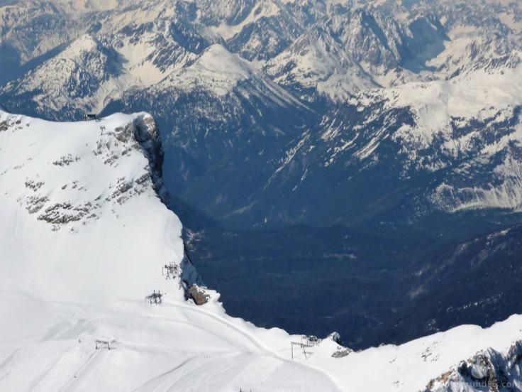 Schneefernerkopf Neue Welt Gletscher