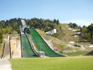 Skistadion Skisprungschanze Garmisch