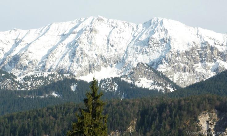 Wettersteinwand Garmisch-Partenkirchen