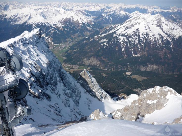 Zugspitze Ehrwald Aussicht