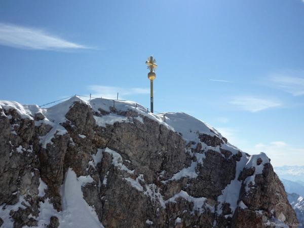 Gipfelkreuz Zugspitze Ostgipfel