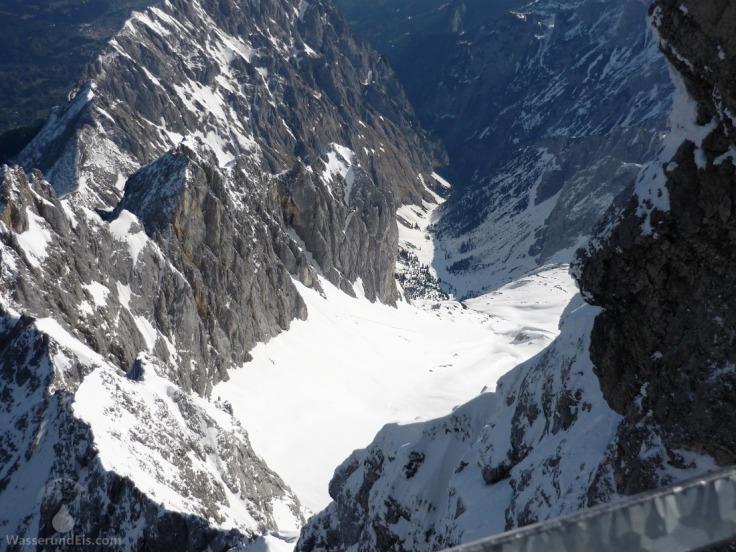 Höllental Wettersteingebirge Höllentalferner Zugspitze