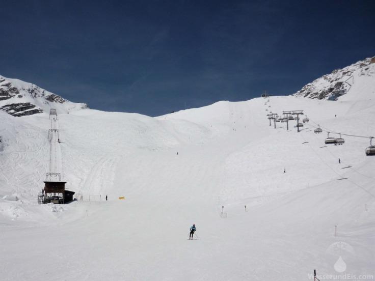 Sonnenkar Weißes Tal Zugspitze.