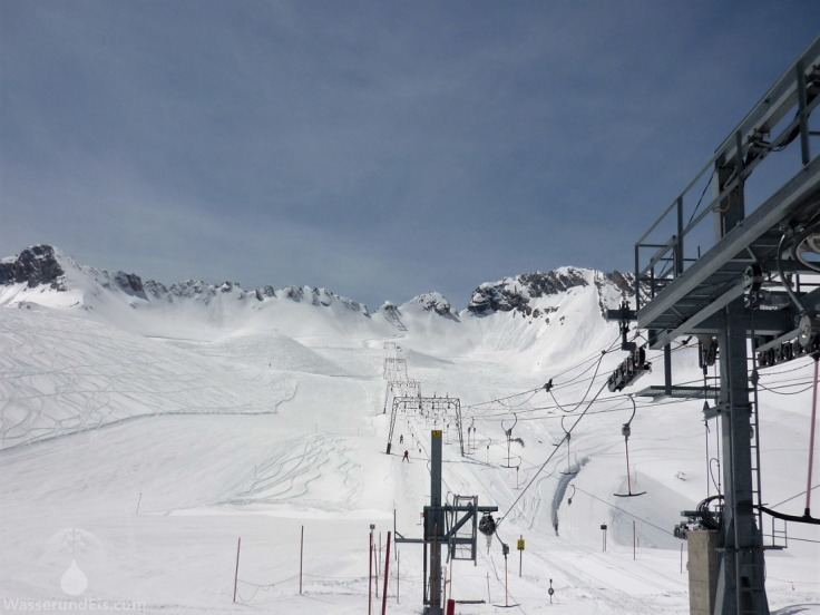 Wetterwandecklift Zugspitze