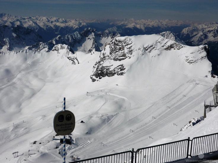 Schneeferner Schneefernerkopf Skigebiet Zugspitze