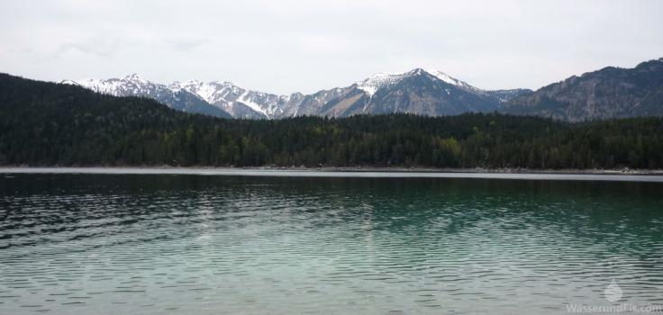 Eibsee Grainau Zugspitze Ammergauer Alpen