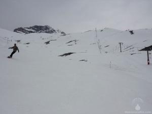 Brunntal Zugspitze Skilift Abfahrt