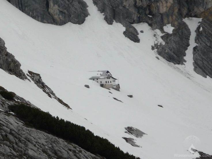 Knorrhütte Weißes Tal Zugspitze