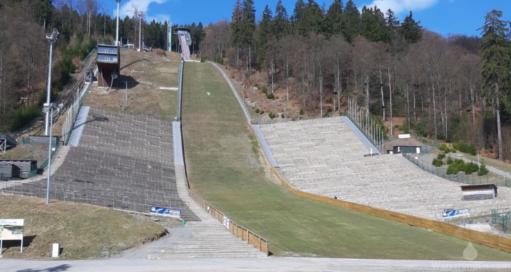 Skisprungschanze Skispringen Willingen