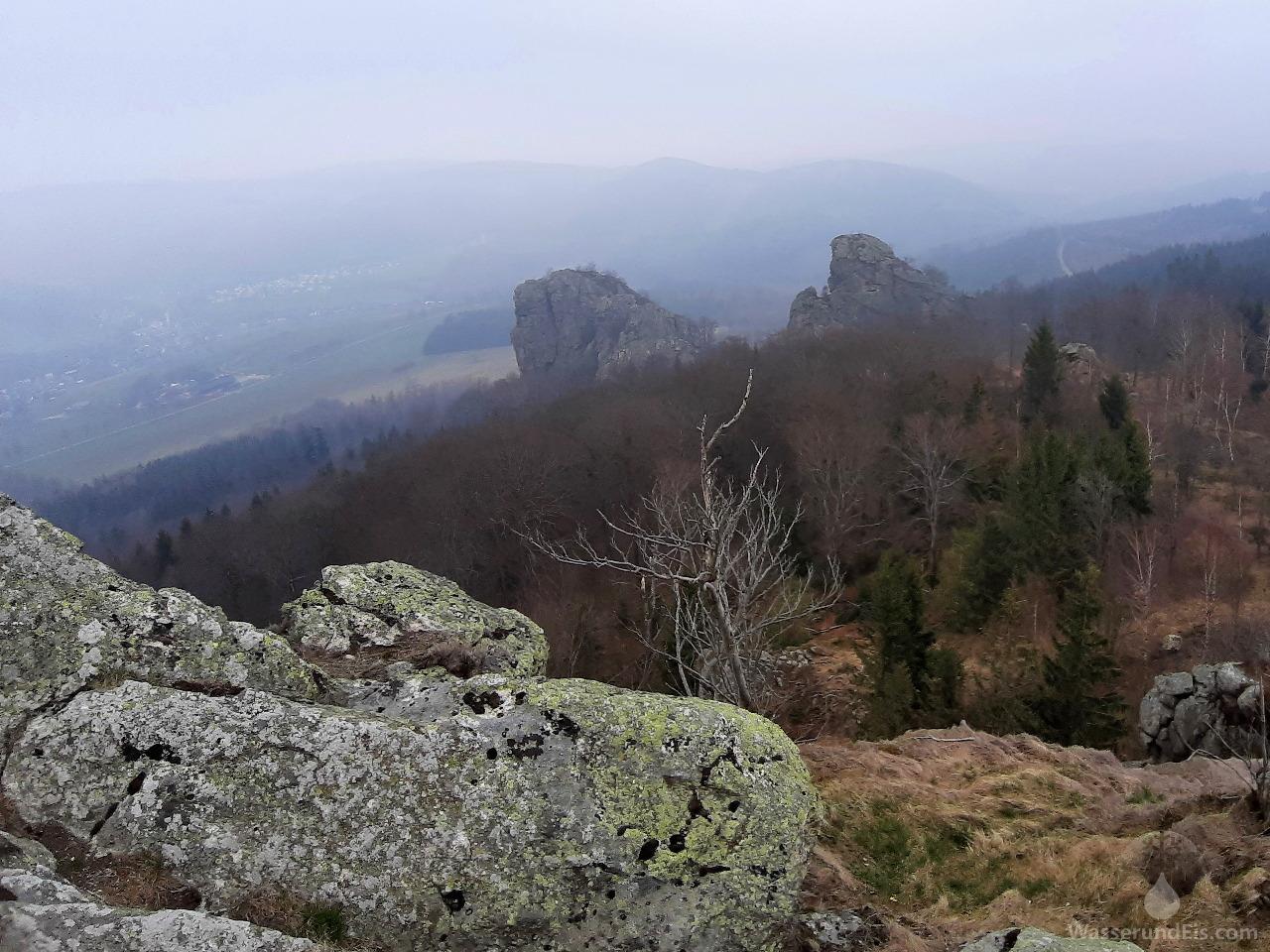 Bruchhauser Steine Feldstein Aussicht
