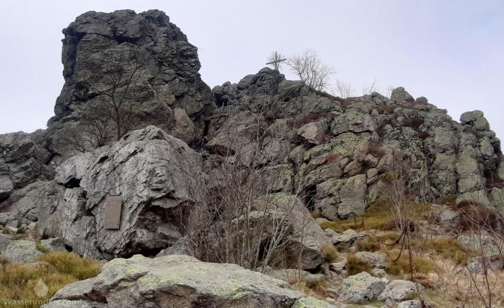 Bruchhauser Steine Feldstein Gipfel