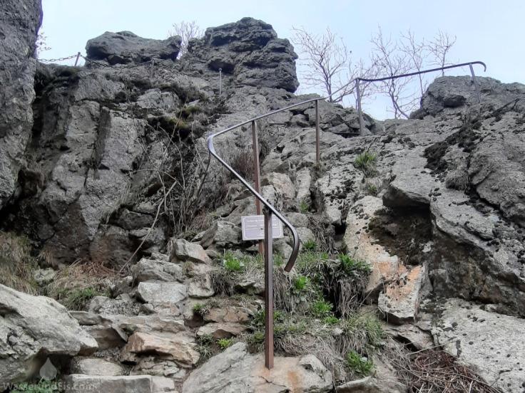 Steig Feldstein klettern