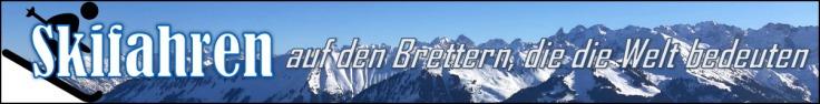 Skifahren-Banner.