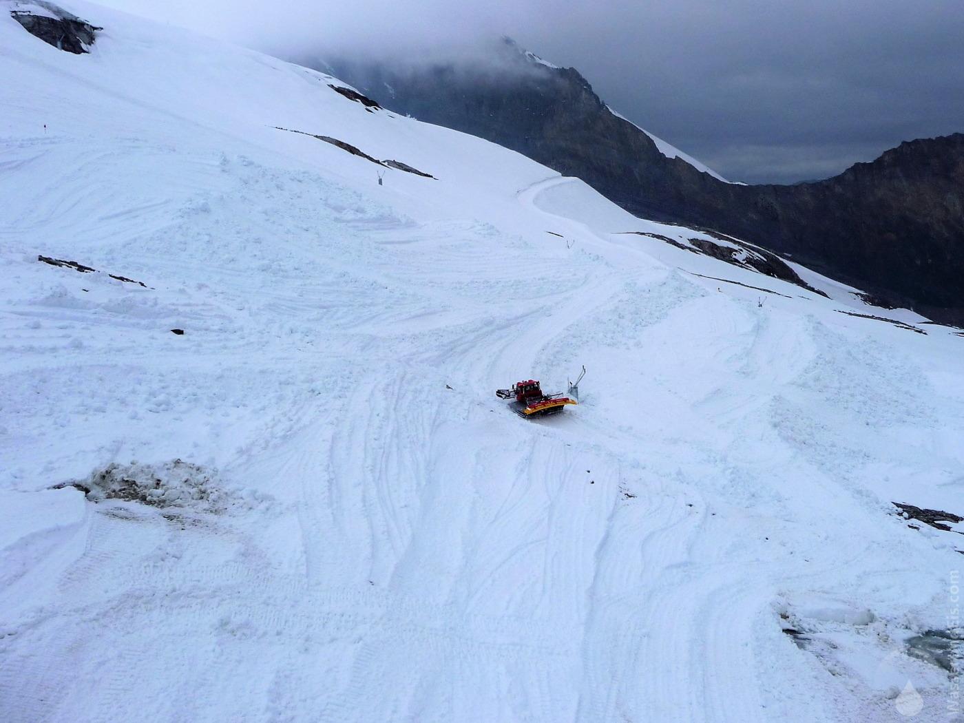 Gletscherschutz Hintertuxer Gletscher Snowfarming