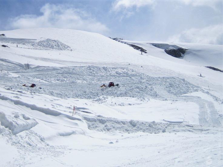 Hintertuxer Gletscher Schnee Snowfarming Schneeverschiebung