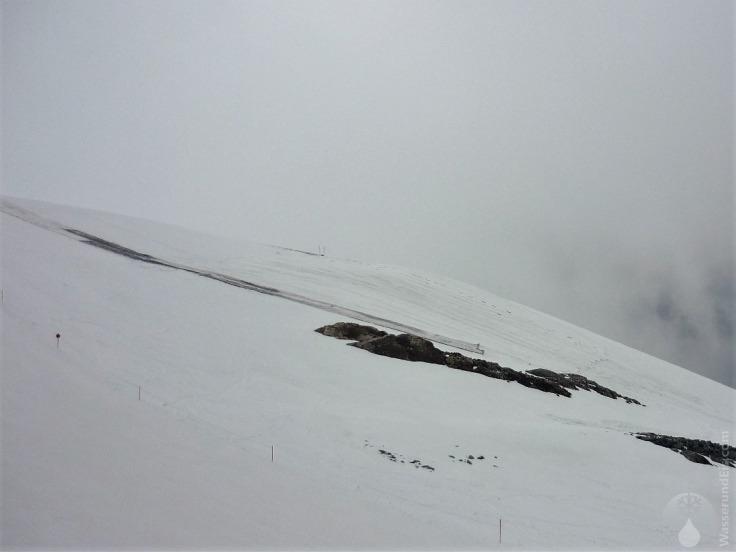 Hintertuxer Gletscher Vermattung Gletscher vermattet