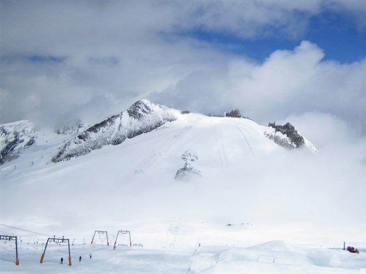 Gefrorene Wand Hintertuxer Gletscher