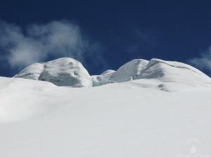 Gletschereis Hintertuxer Gletscher Gletscherskigebiet Sommerskigebiet