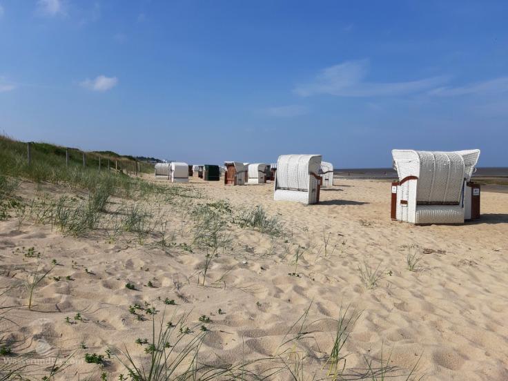 Morgen am Sahlenburger Strand Cuxhaven