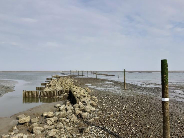 Sahlenburger Loch Priel Wattenmeer Cuxhaven