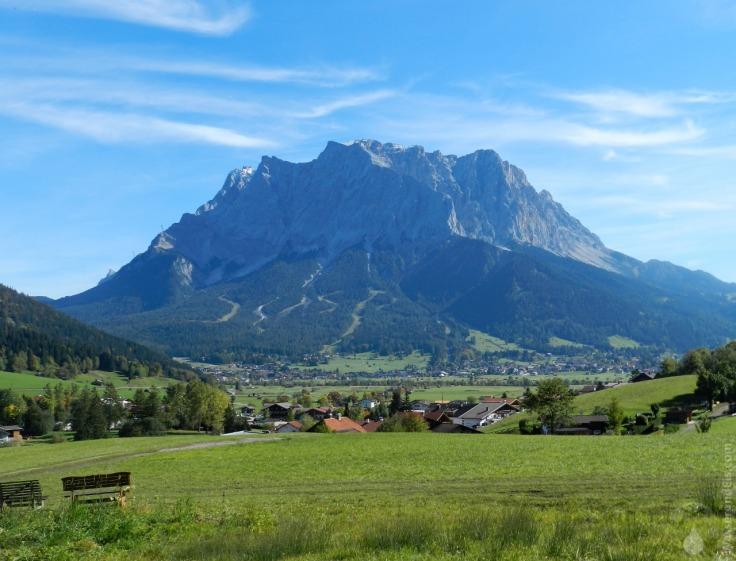 #Wettersteingebirge von Westen