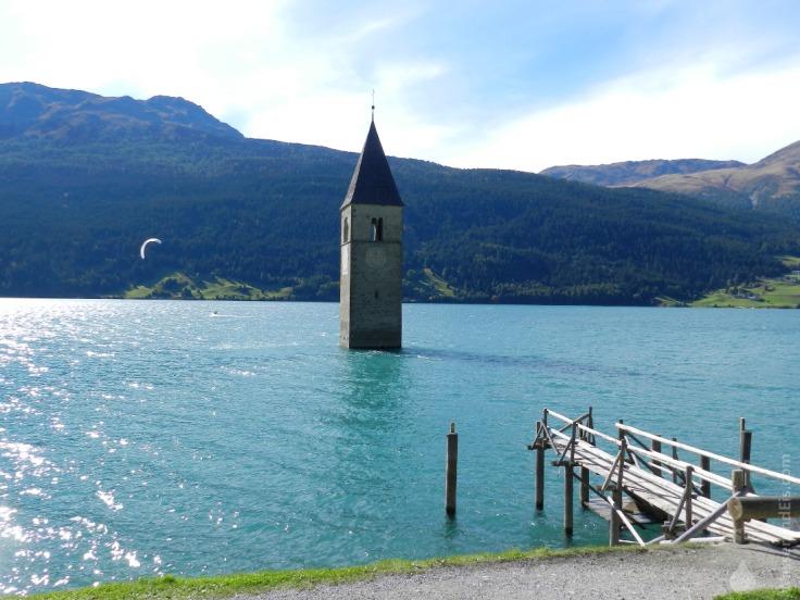 #Reschensee Kirchturm