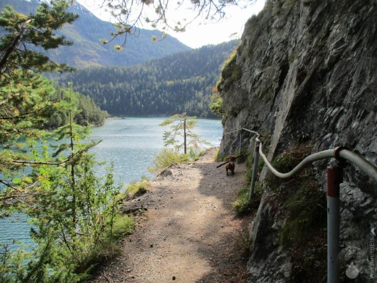 Wanderweg Blindsee Fernpass