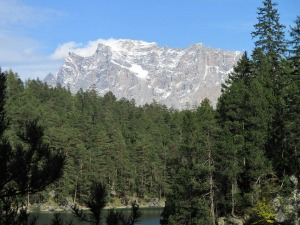 Wetetrsteingebirge Zugspitze Blindsee Tirol