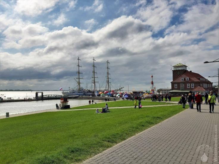 Mir Bremerhaven Segelschiff Schulfschiff