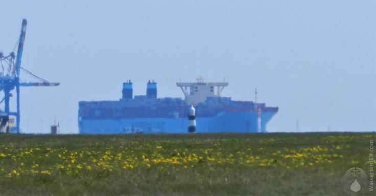 #Kleiner Preuße Containerschiff