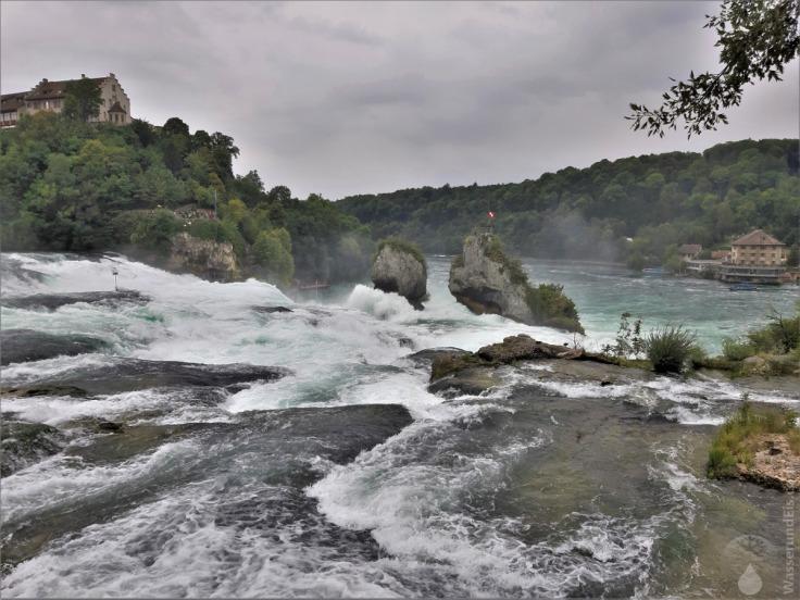 #Rheinfall von oben
