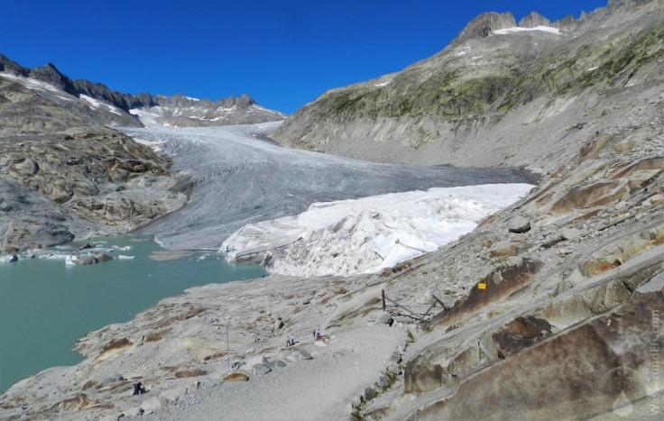 #Rhonegletscher Zunge Eisgrotte