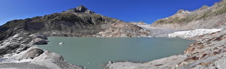 #Rhonegletscher Gletschersee Panorama