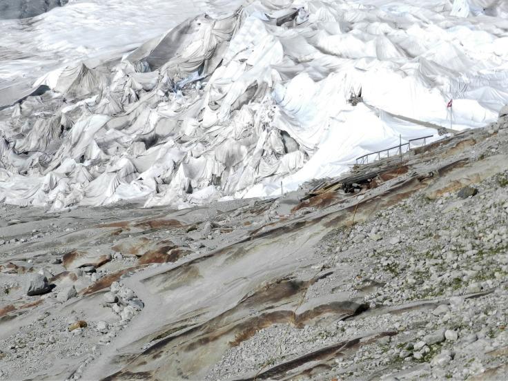 #Rhonegletscher Abdeckung