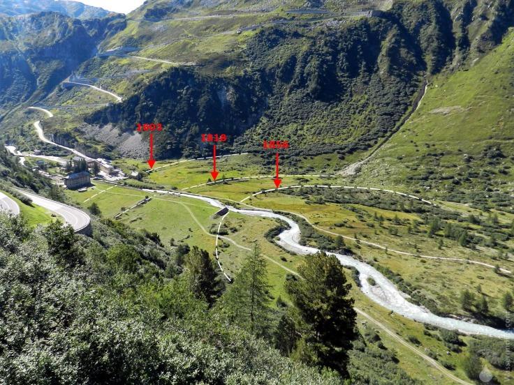 #Endmoränen Gletschboden Rhonegletscher