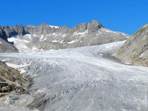 #Gletscherzunge Rhonegletscher Tieralplistock