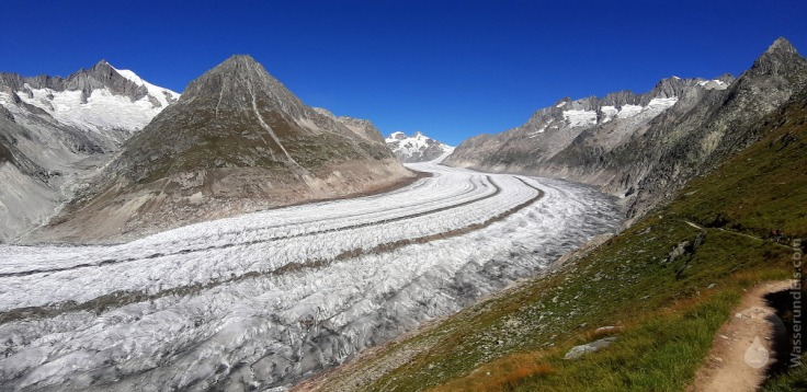 #Aletschgletscher Mittelaletschgletscher