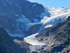 #Steingletscher Gletscherzunge