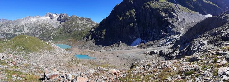 #Steingletscher Panorama Gletscherbett